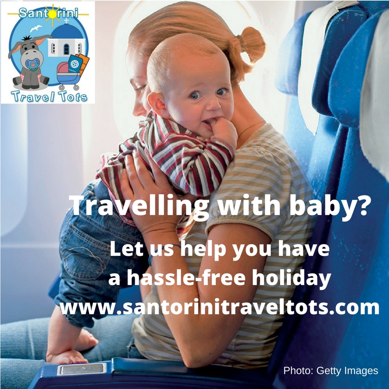 Travelling with baby to Santorini